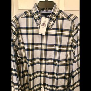 Tommy Hilfiger Checkered Print Shirt